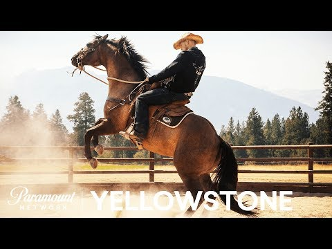 'Cowboy Camp' 🏇  BTS w Wes Bentley, Luke Grimes & More!  Yellowstone  Paramount Network