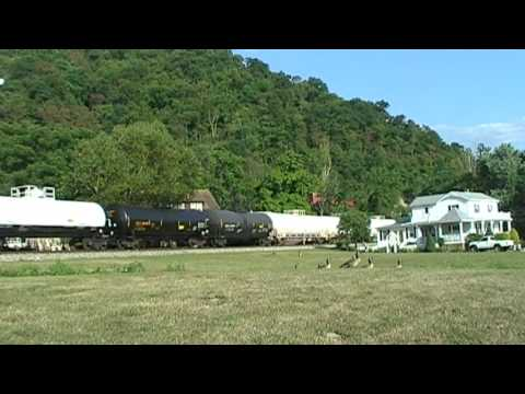 CSX Local Freight At Proctor, West Virginia