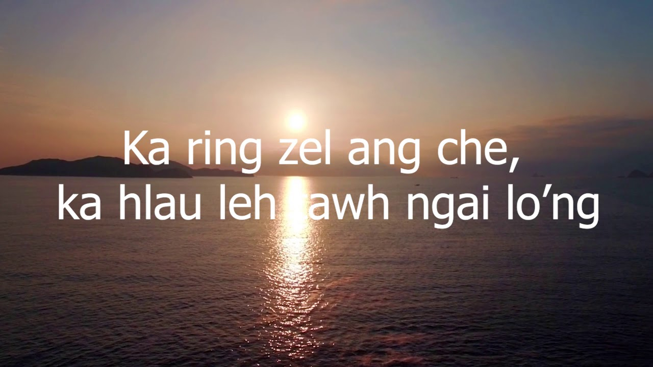 Vena Pachuau - Ka hlau leh tawh ngai lo'ng (Official Lyrics Video)