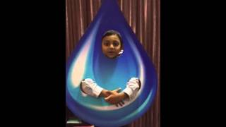 Save water drop fancy dress competition-2015