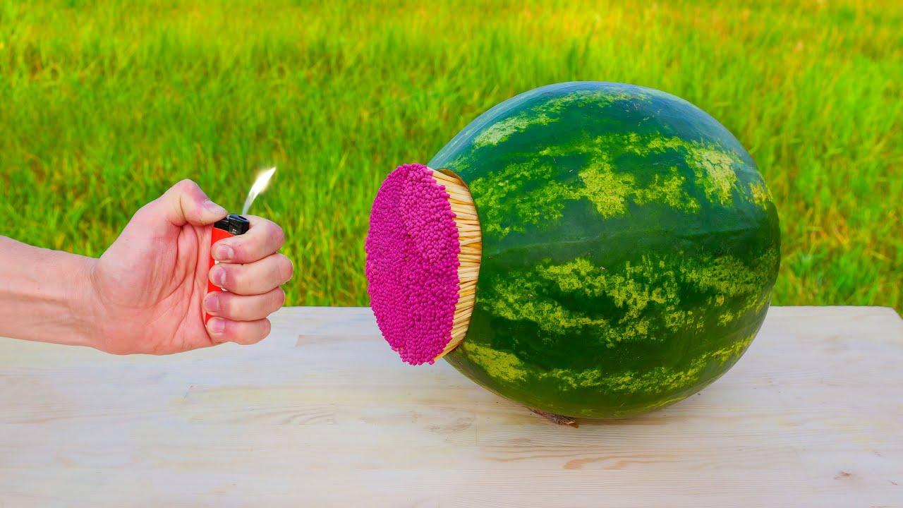 Watermelon Vs Matches
