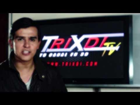 Trixdi TV - Configurar tu televisor 3D
