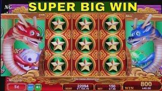 Dragon's Law Twin Fever Slot Machine $7.50 Max Bet Bonus 💥SUPER BIG WIN💥 ! Slot Machine✦ HUGE WIN✦