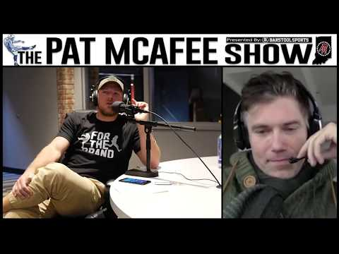 The Pat McAfee  Simulcast Ep. 93 Pat and Anson Mount Talk Alien Language, Vaping, More 111017