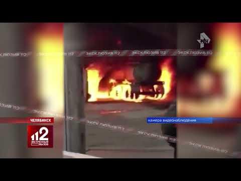 Взрыв на нефтебазе. Видео!