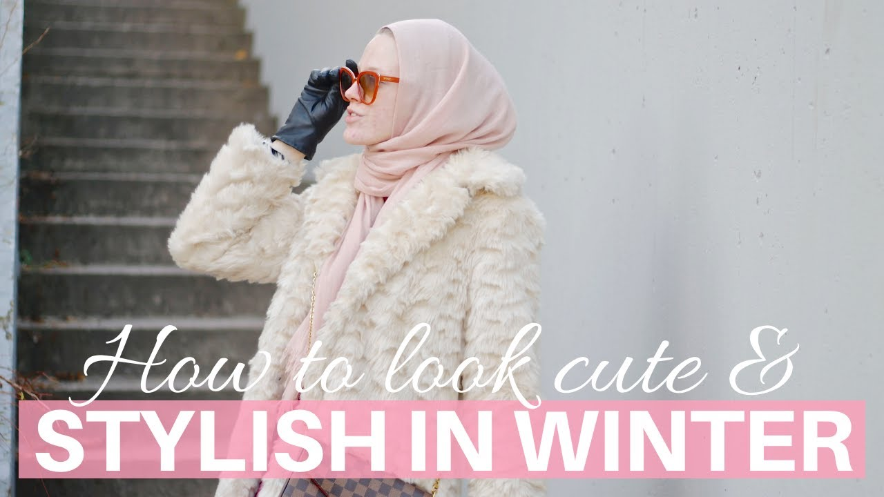[VIDEO] - How to look cute and stylish in winter (without freezing) 3