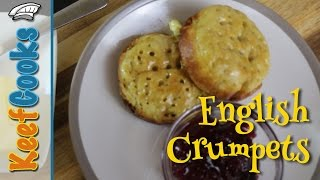 English Crumpets Recipe