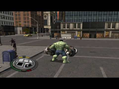 The Hulk Gameplay PC