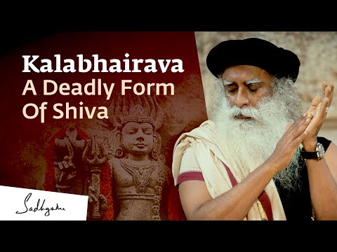 The Significance of Kalabhairava -- The Most Fearsome Form of Shiva | Sadhguru
