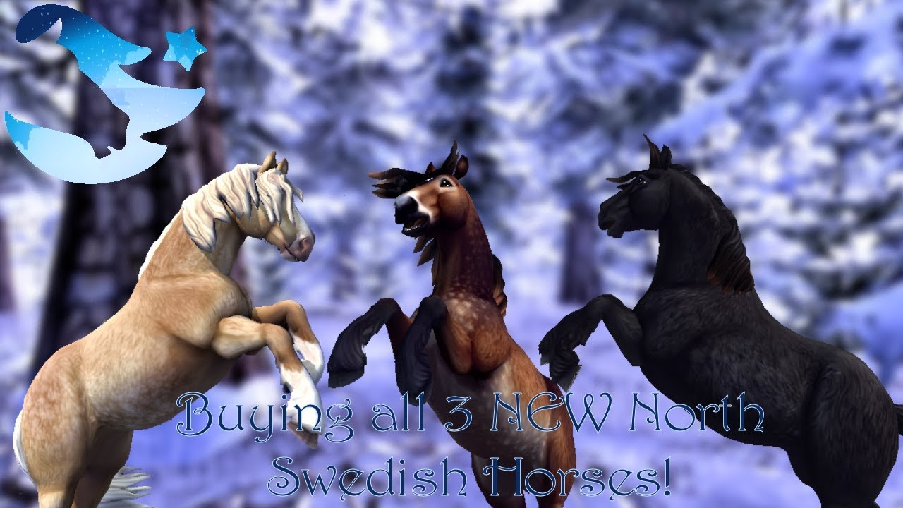 Sso  Buying All 3 New North Swedish Horses!  Surprise