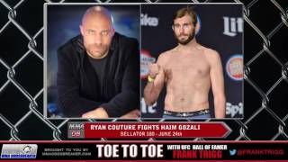 Frank Trigg pre-fight interview with Bellator 180's Ryan Couture