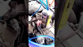 Промывка форсунок Ford Ranger 2010 жидкостью Wynn
