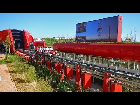 Ferrari Land Opening Day Vlog 7th April 2017 PortAventura World 60FPS