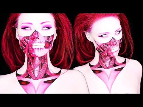 A Demon's Little Sister (Body Paint Makeup Tutorial)