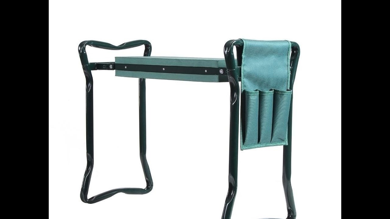 Review Ohuhu Garden Kneeler and Seat with Bonus Tool Pouch YouTube