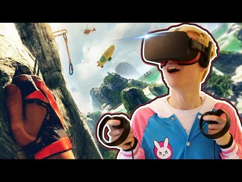 DANGEROUS CLIMBING, HIKING & MOUNTAINEERING! | The Climb VR (Oculus Touch Gameplay)