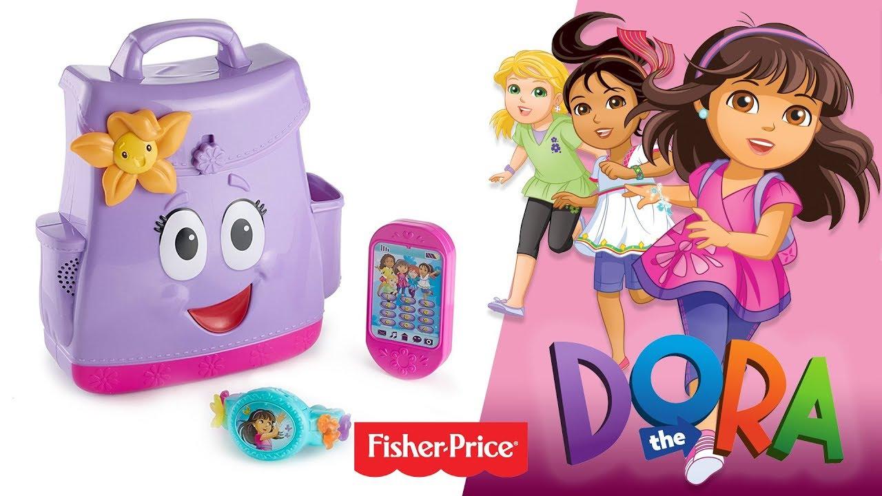 Dora i przyjaciele™ Mówiący plecak i magiczna bransoletka, Fisher-Price