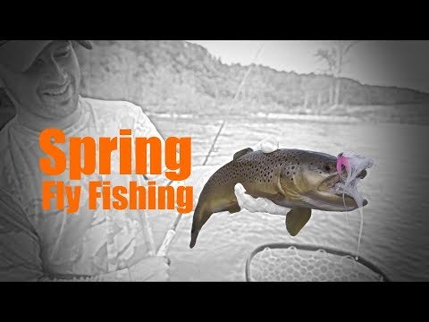 Fly Fishing The Ozarks -- Spring 2018