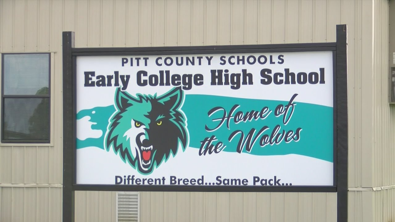 100+ kids return to Pitt Co  Early College High School Monday