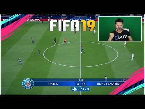 JUCAM FIFA 19 CHAMPIONS LEAGUE 😍 - REAL MADRID vs PSG !!!!