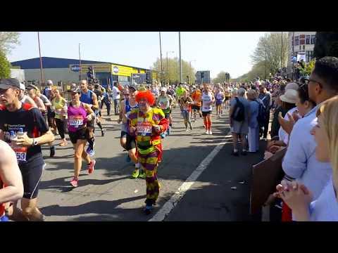HG solar power bank London Marathon