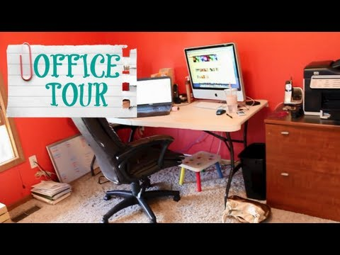 OFFICE TOUR - PRIOR TO REMODELING