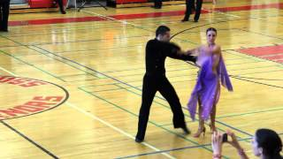 Yale Ballroom Dance Competition 2014 - Open Rhythm Bolero - Final