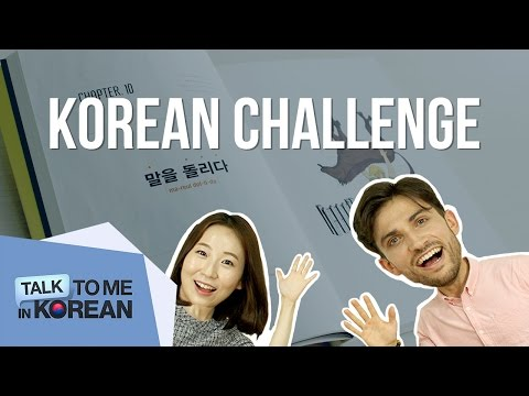Korean Language Challenge with Andreas ㅡ 안드레아스의 한국어 퀴즈 도전 [TalkToMeInKorean]