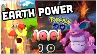 EARTH POWER OVER EARTHQUAKE IN POKEMON GO | CLAYDOL THE DESTROYER IN NIGHTMARE CUP