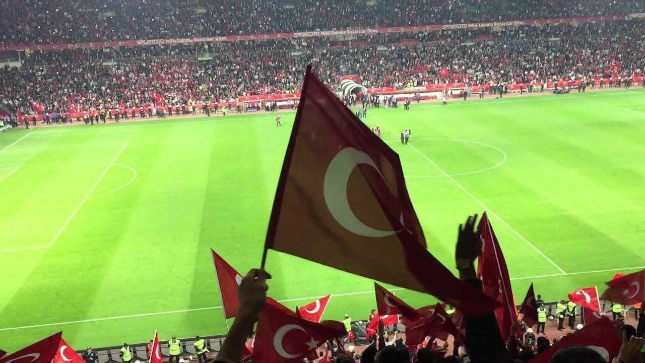 Türkiye İzlanda Milli Maç, 2015 TÜRKİYE-İZLANDA MAÇI SONU MEHTER MARŞI milli takımın taraftarı selam