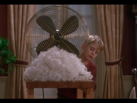 Home Alone (1990) - 'Setting the Trap' scene [1080p]