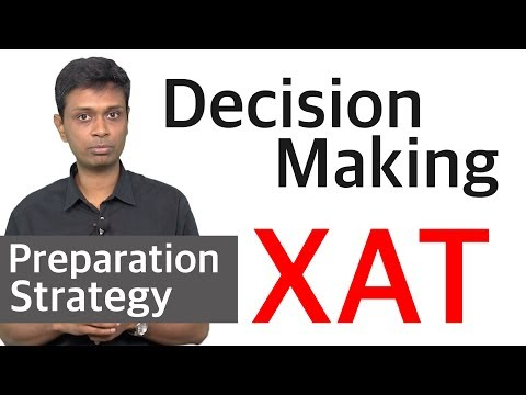 Preparation Strategy for XAT Decision Making