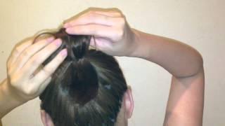 短髮女孩的可愛編髮 Vol. 1