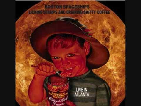 Boston Spaceships - Licking Stamps and Drinking Shitty Coffee