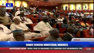 Ministerial Screening: Senate Drills Fmr. Lagos State Governor, Fashola Pt. 4 14/10/15