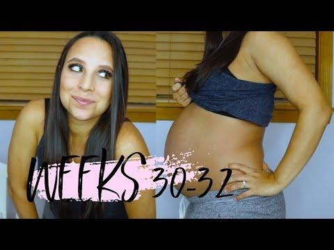 PREGNANCY VLOG | WEEKS 30-32 | UP 40 POUNDS SO FAR...