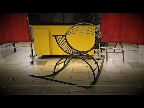 Cмотреть Кресло-качалка.Продолжение.Кресло из металла.
