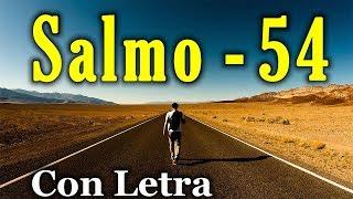 Salmo 54 - El Señor sostiene mi vida (Con Letra) HD.