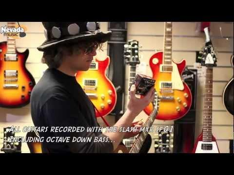 Slash MXR SF01 Octave Fuzz Pedal Demo - Nevada Music UK