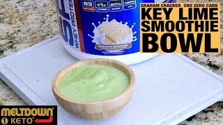 How to Make a Keto Key Lime Bowl