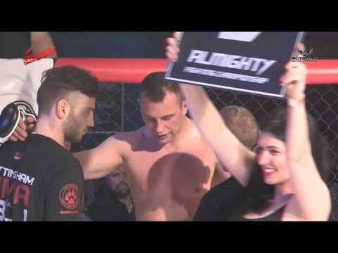 Almighty Fighting Championships 4   Mikel Janik Vs  Olly Rix