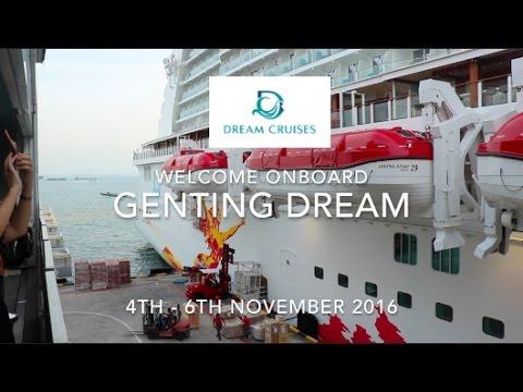 Dream Cruises Genting Dream Inaugural Cruise Montage