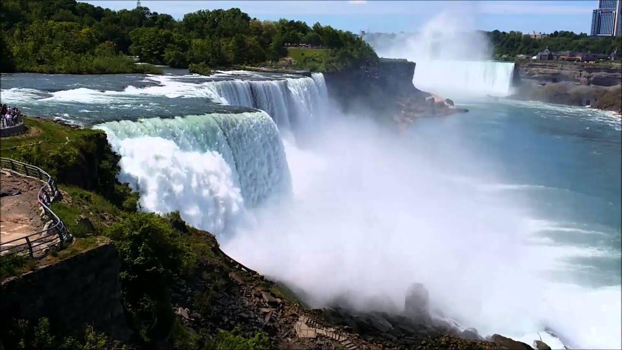 Fall Wallpapers For Desktop Idaho Beautiful And Powerful Niagara Falls Ny In Hd Video Youtube
