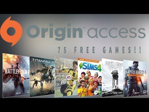 Get 75 Games FREE With Origin Access? BEST DEAL..... EVER?