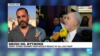 Saudi Oil Attacks: Iran's FM says 'strike against Tehran would result in all-out war'