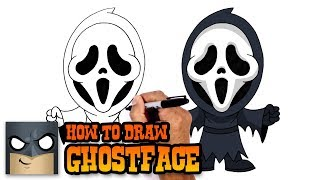 How to Draw Ghostface | Scream