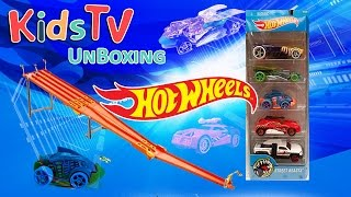 Hot Wheels Street Beasts 5 Pack Unboxing and Playtime With Gideon and Logan