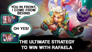 The Best Strategy To Easily Dominate The Enemy With Rafaela | Mobile Legends