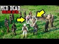 21 PLAYER FIGHT CLUB in Red Dead Online! RDR2 Online Custom Lobby Funny Moments!