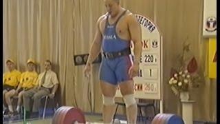 Обзор чемпионата России по тяжелой атлетике 2002 г.Курск